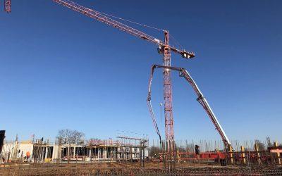 Der Baufortschritt des LTC – Linder Technologie Campus